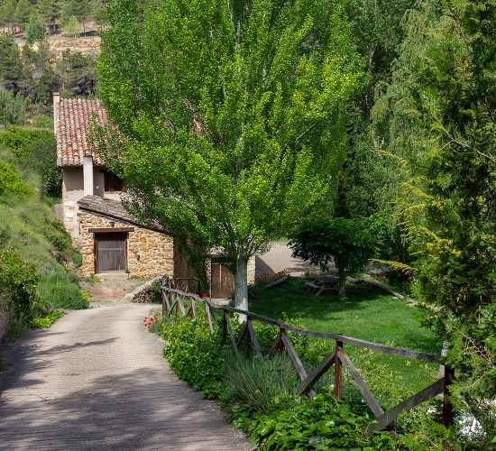 Molí nou - Apartamentos rurales para grupos en Peñarroya de Tastavins