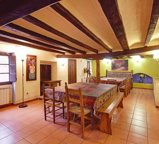 Molí nou - Apartamentos turísticos para grupos en Peñarroya de Tastavins